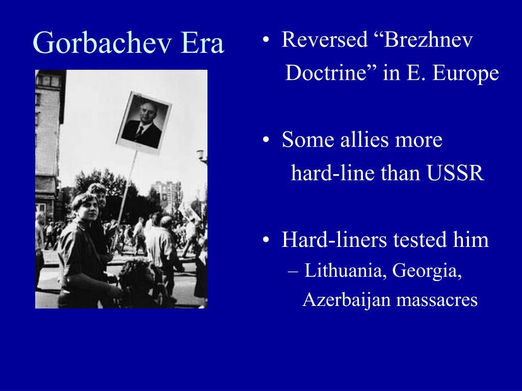 Gorbachev Era