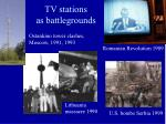 tv stations as battlegrounds