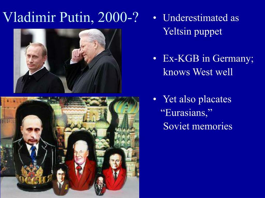 Vladimir Putin, 2000-?