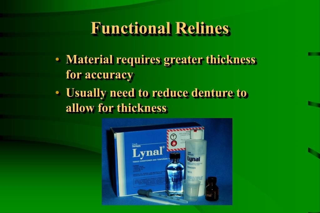 Functional Relines