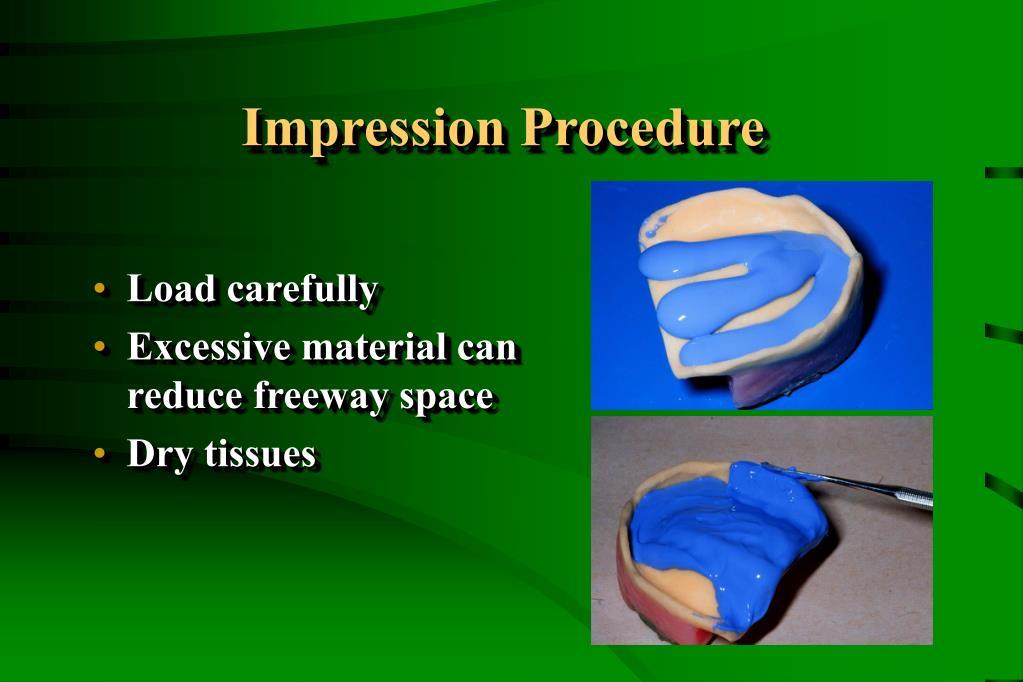 Impression Procedure