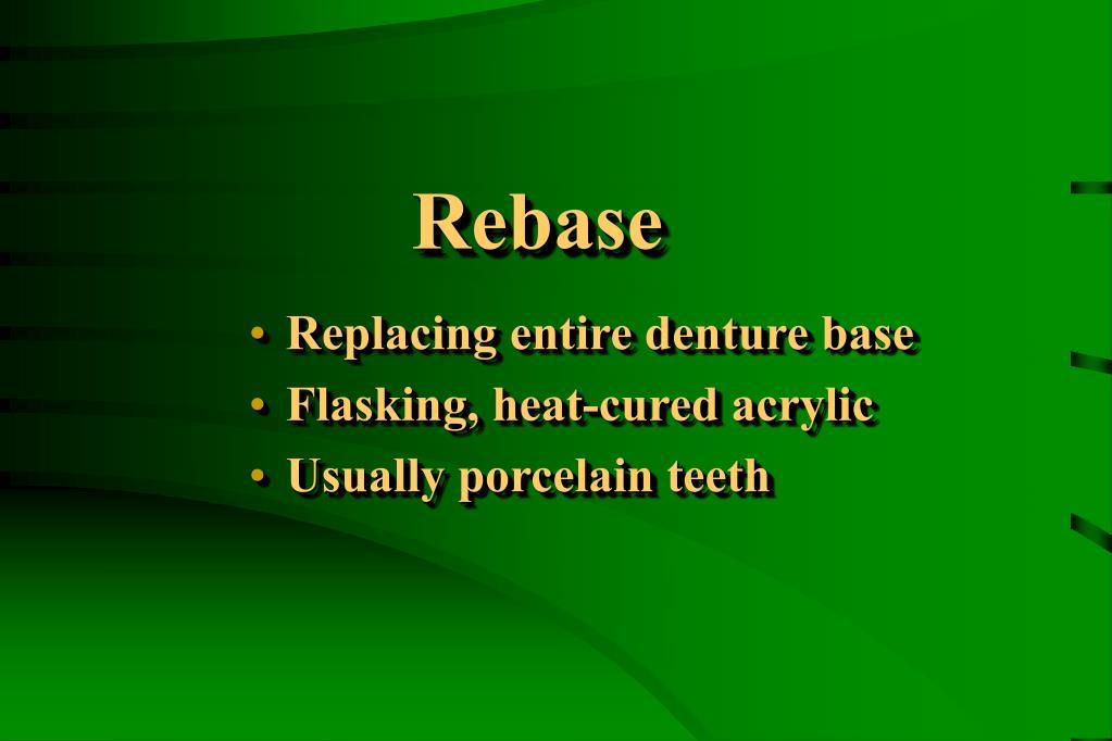 Rebase