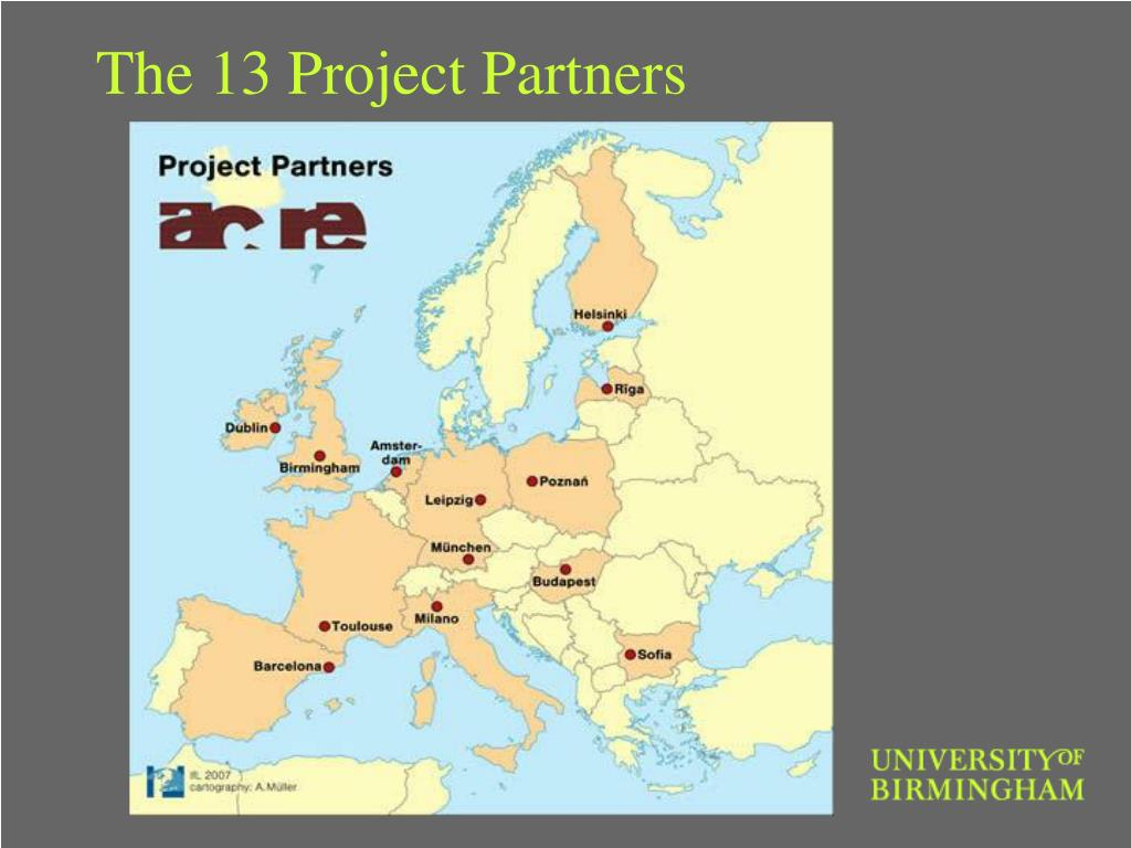 The 13 Project Partners