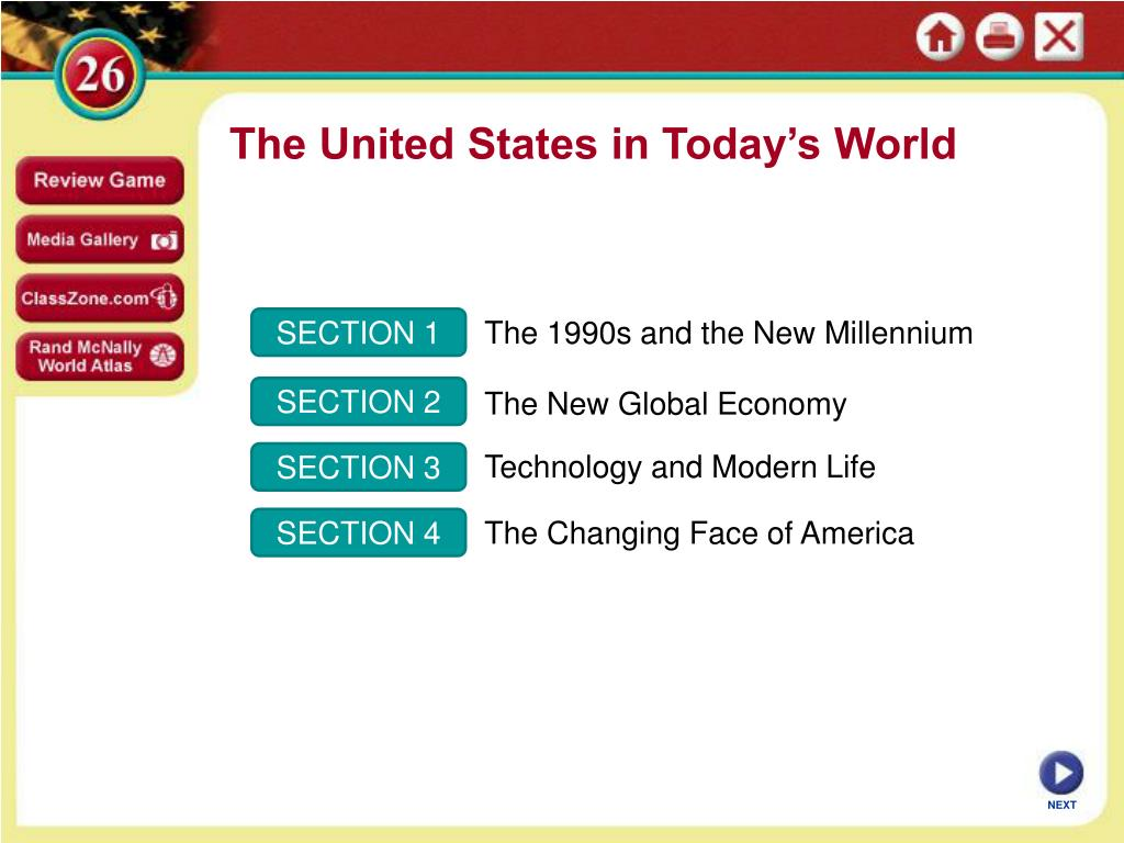 The 1990s and the New Millennium