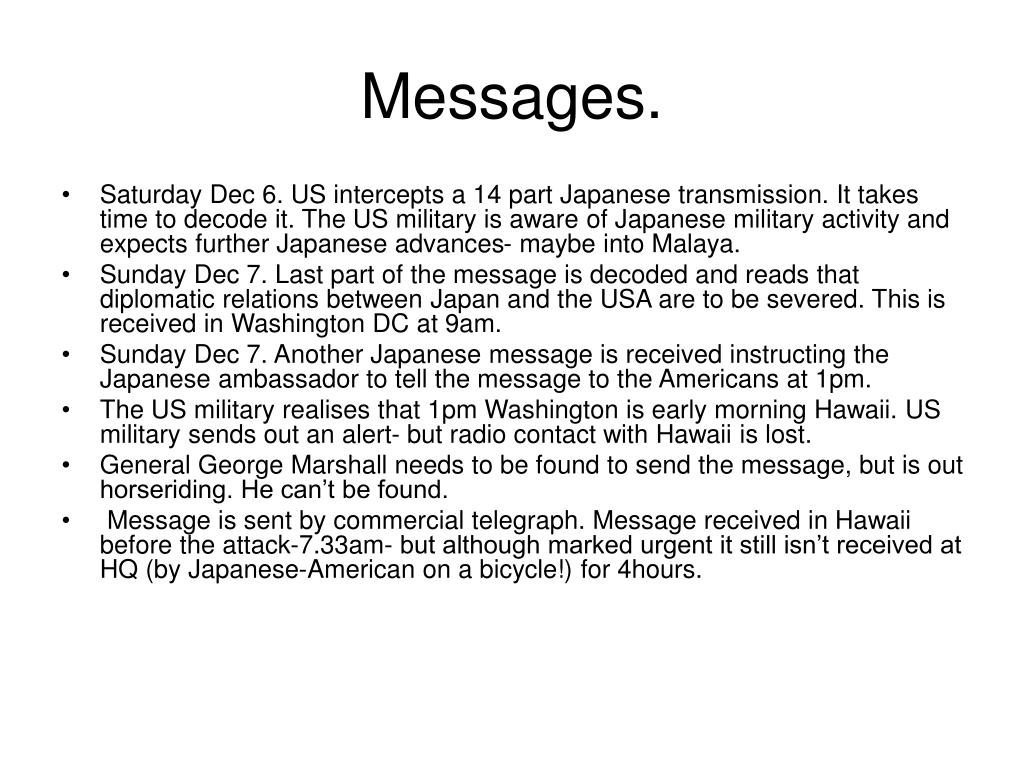 Messages.