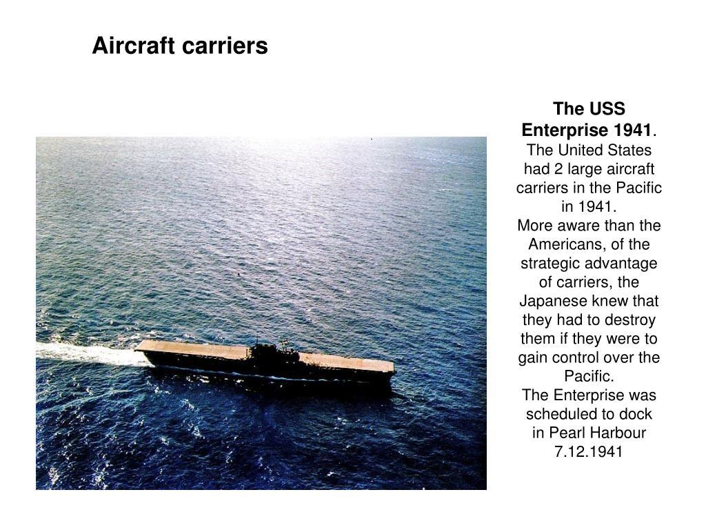 The USS Enterprise 1941
