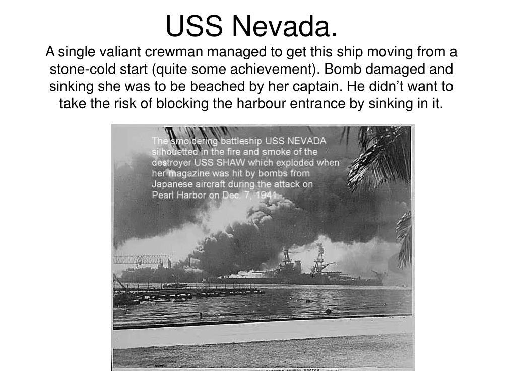 USS Nevada.