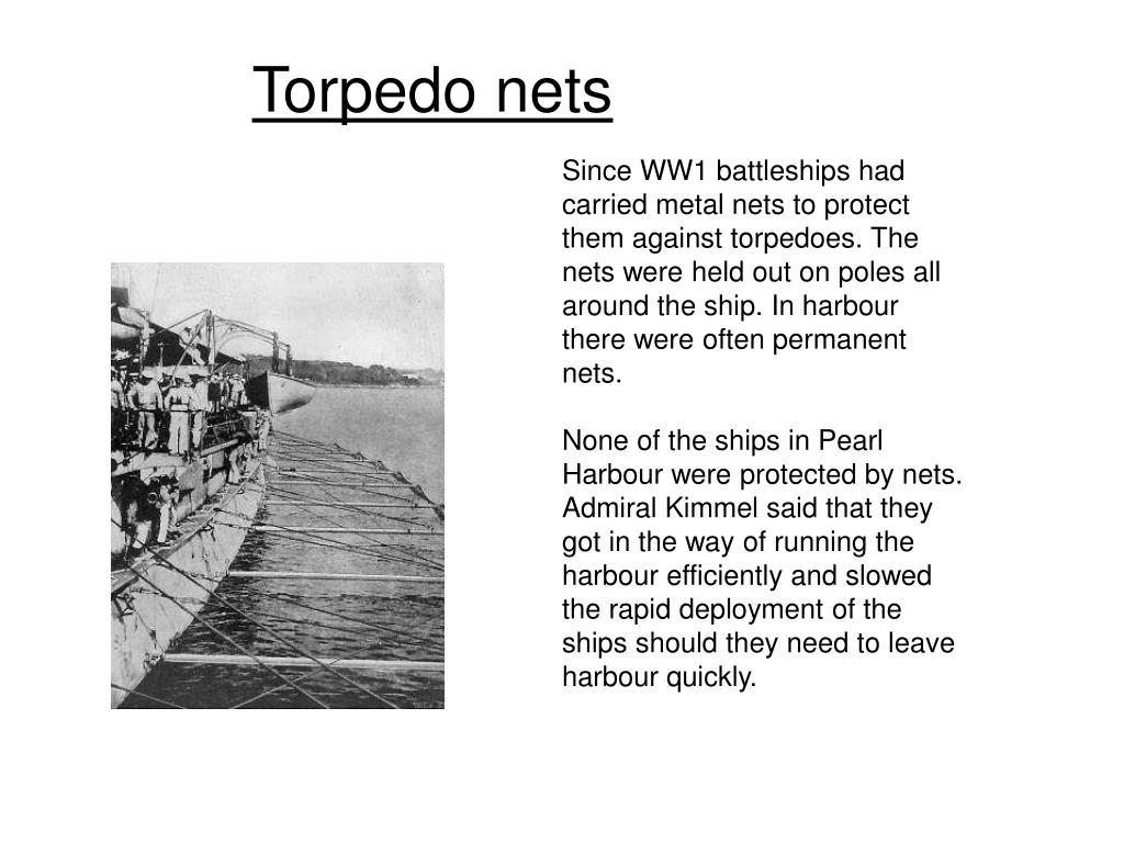 Torpedo nets