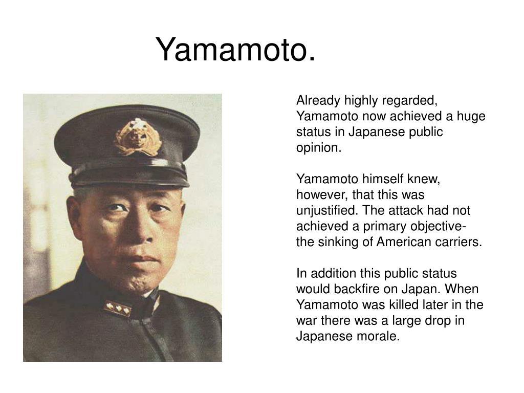 Yamamoto.