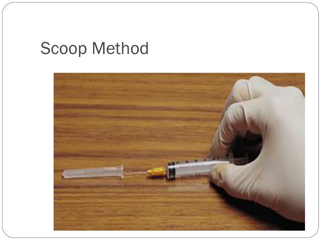 Scoop Method