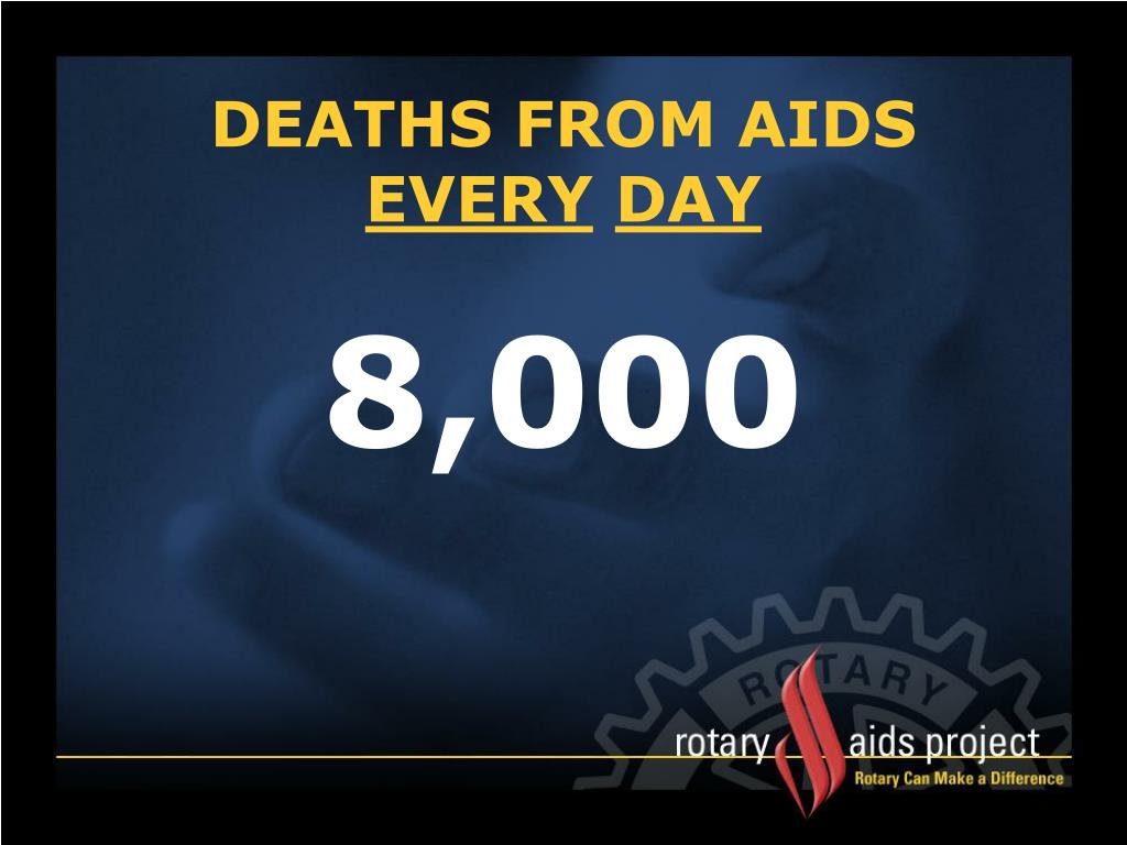 DEATHS FROM AIDS