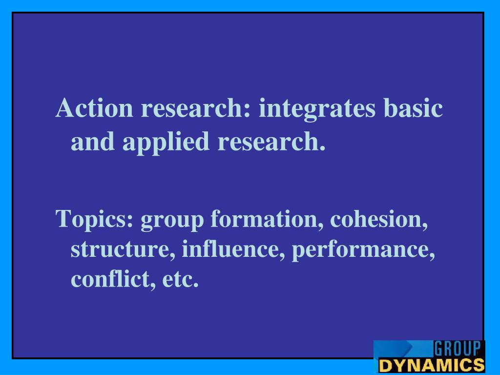 group dynamics research paper Discover)your)conflict)style) for)student thisshouldameliorategroupdynamics,preventconflictsfromescalating (a research paper) with a group of.