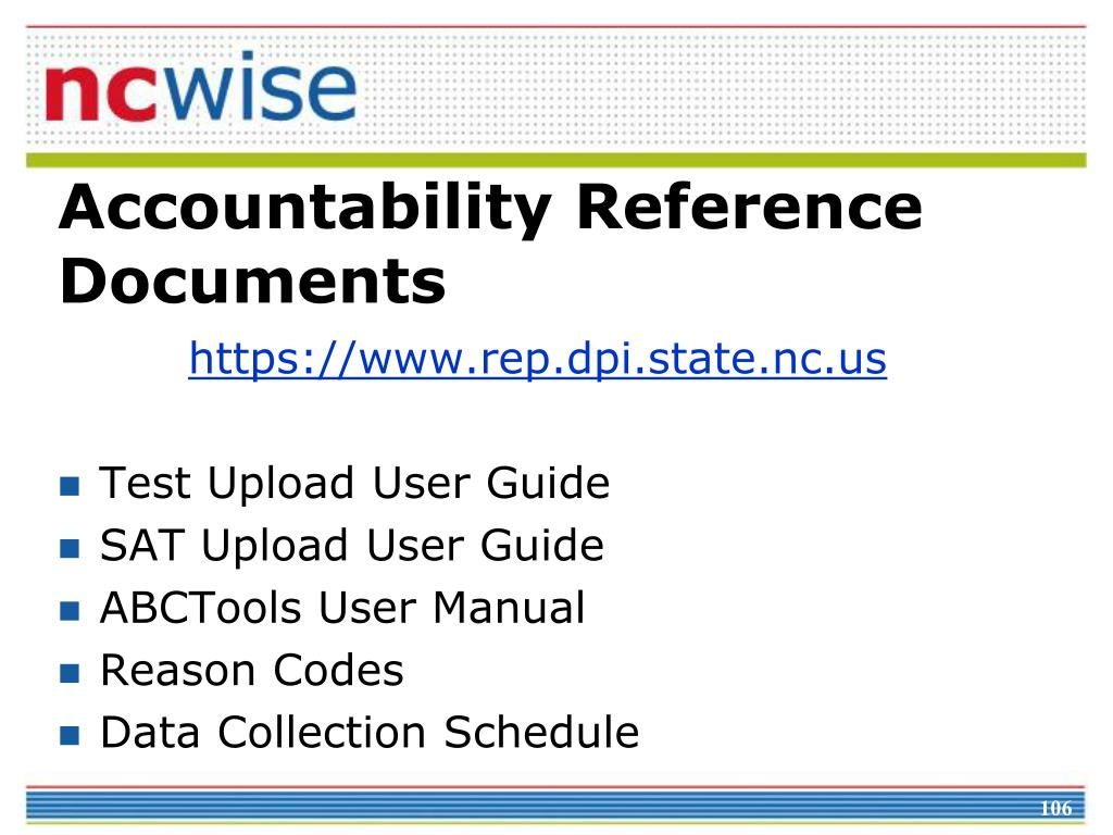 Accountability Reference Documents