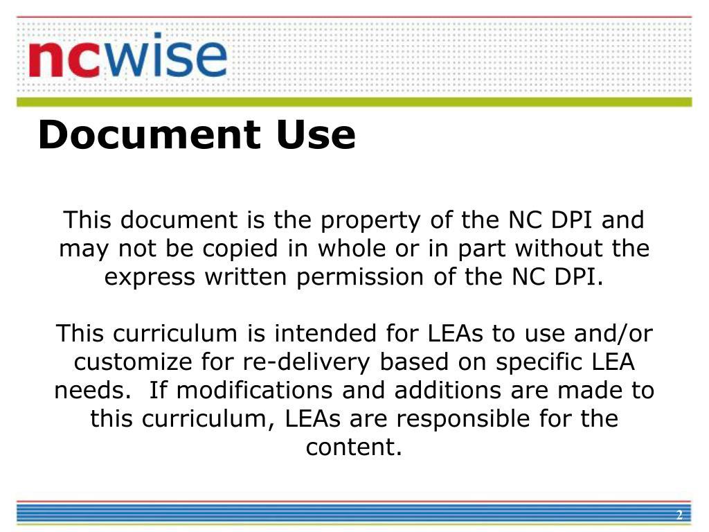 Document Use
