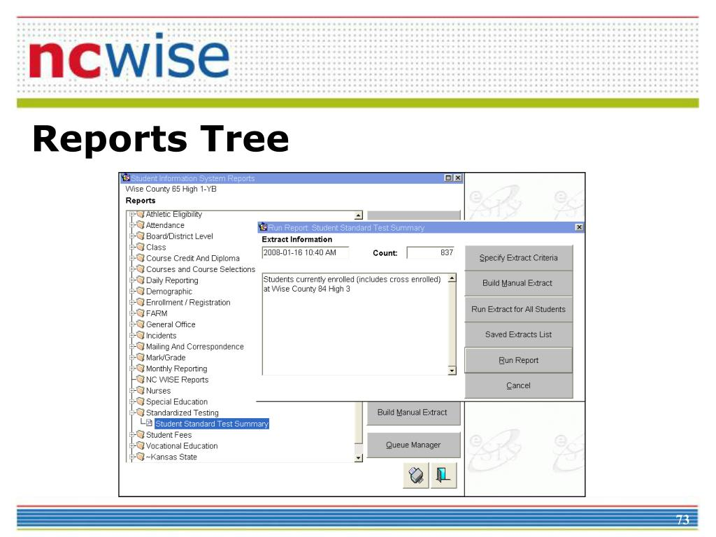 Reports Tree