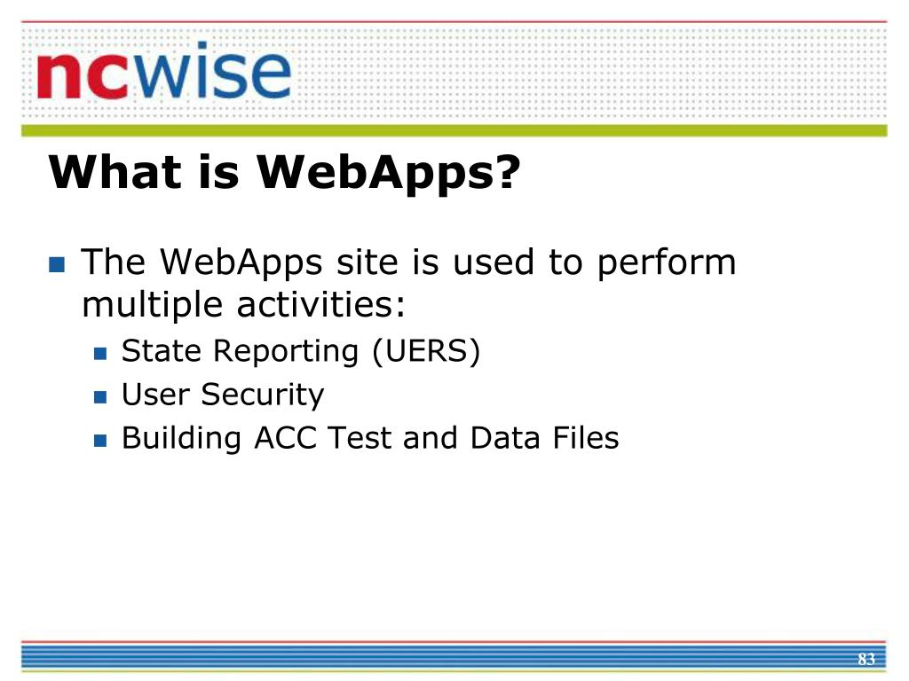 What is WebApps?