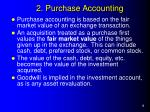 2 purchase accounting