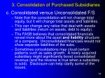 3 consolidation of purchased subsidiaries14