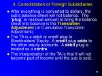 4 consolidation of foreign subsidiaries18