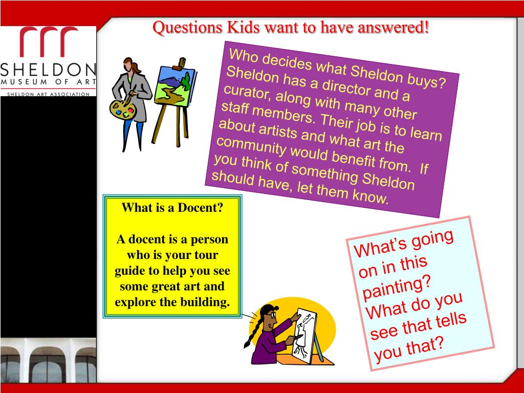 Questions Kids want to have answered!
