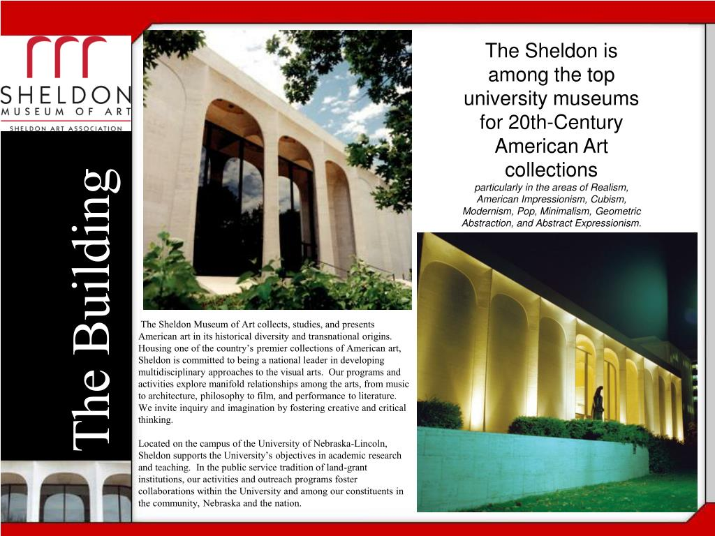The Sheldon is among the top university museums for 20th-Century American Art collections