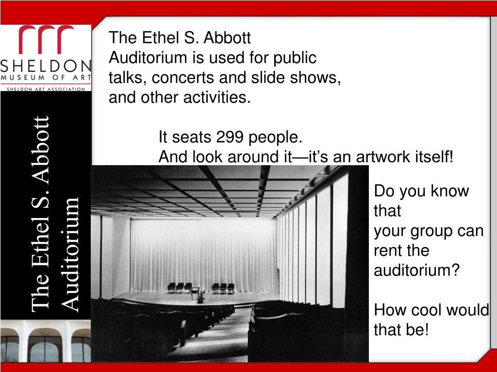 The Ethel S. Abbott