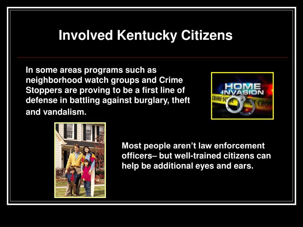 Involved Kentucky Citizens