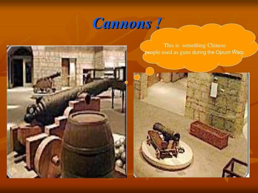 Cannons !