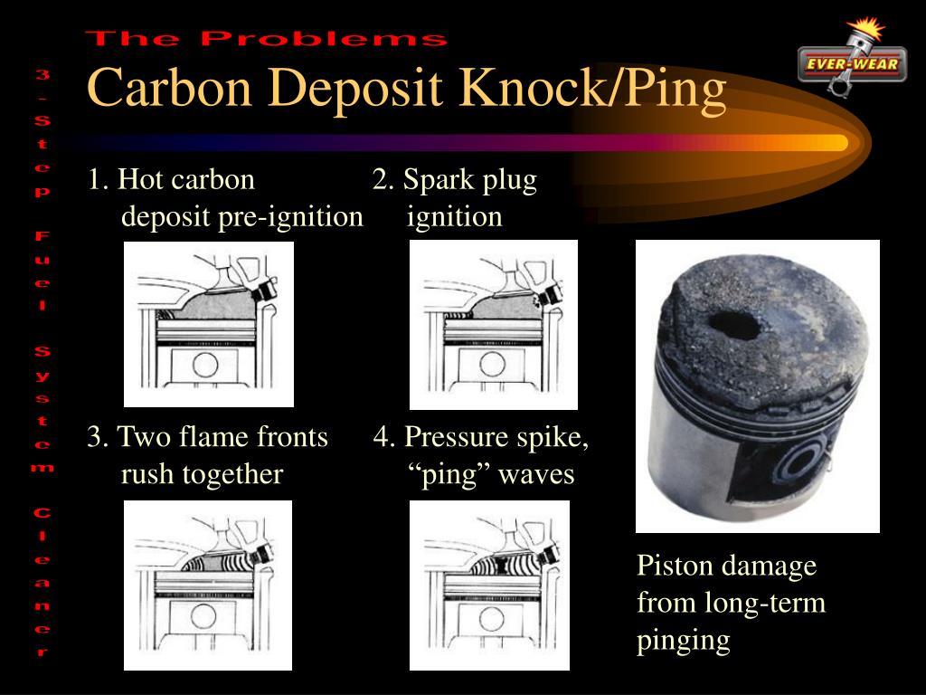 Carbon Deposit Knock/Ping