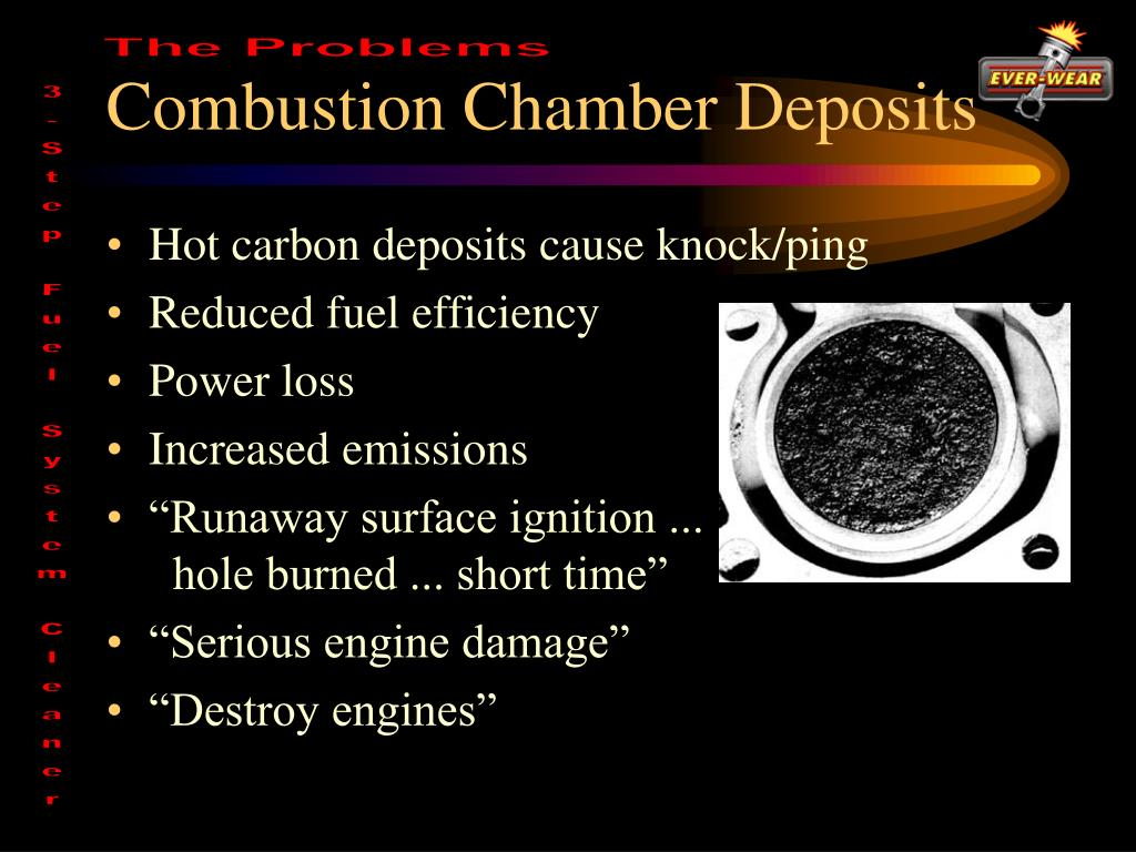 Combustion Chamber Deposits