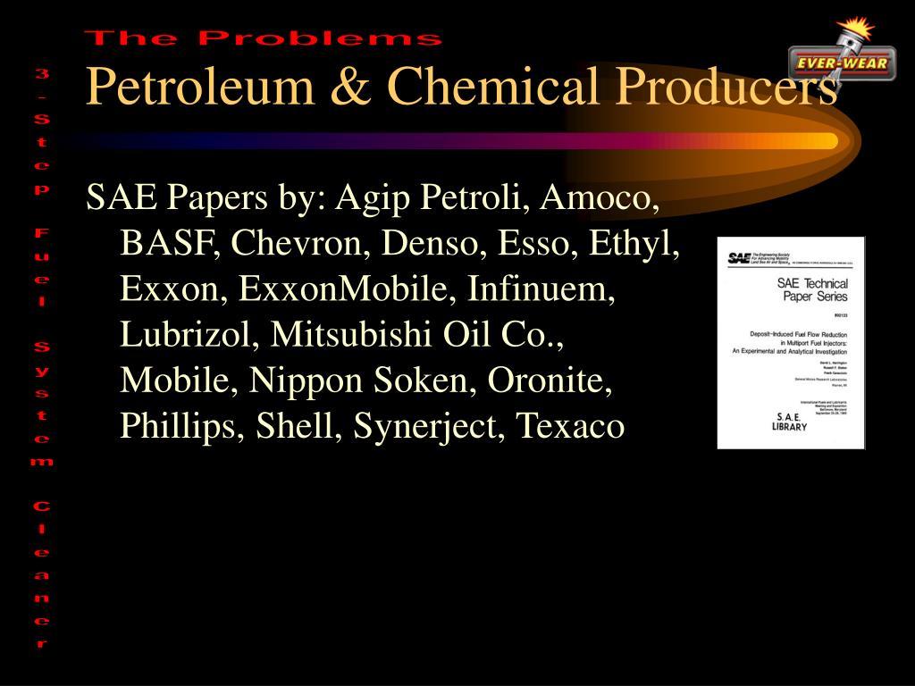 Petroleum & Chemical Producers