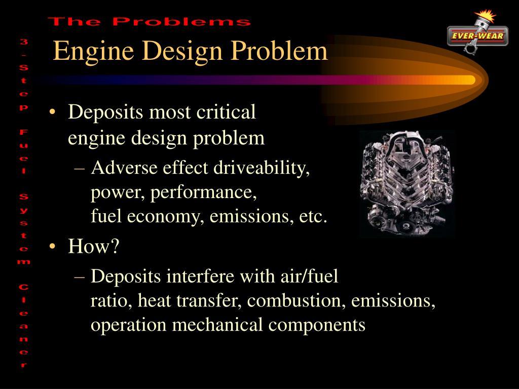 Engine Design Problem