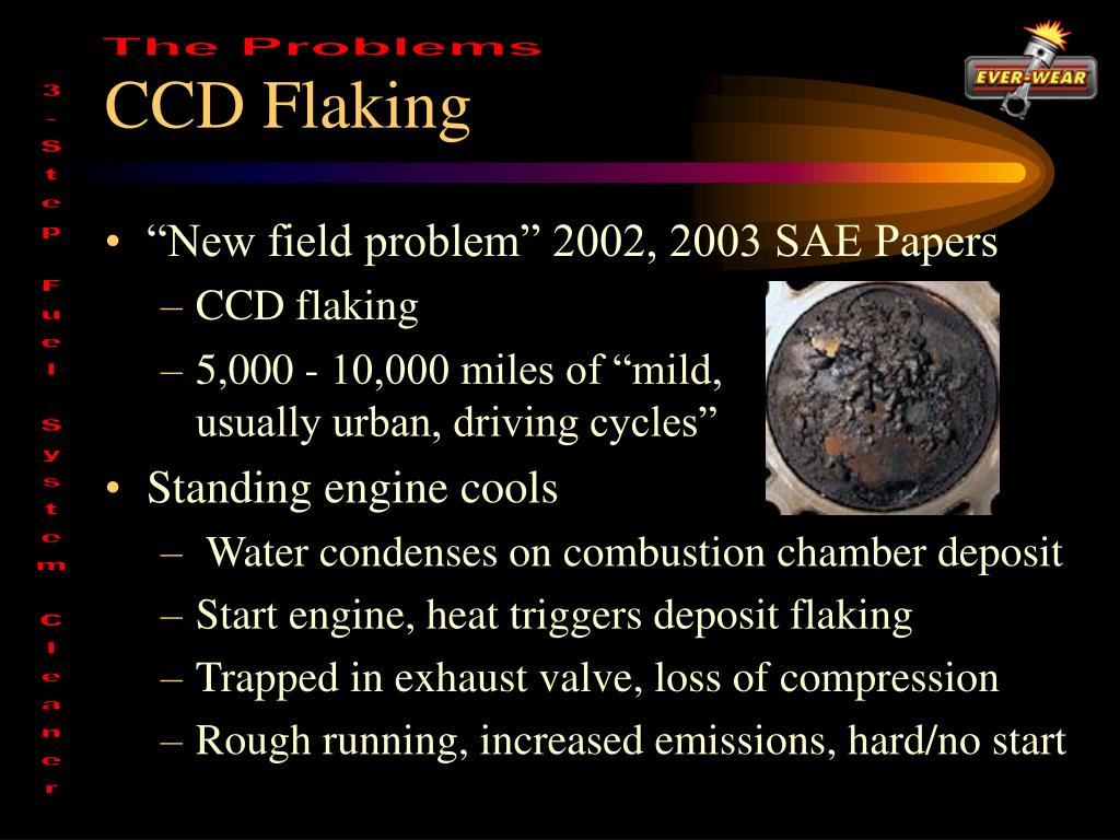 CCD Flaking