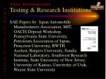 testing research institutions6