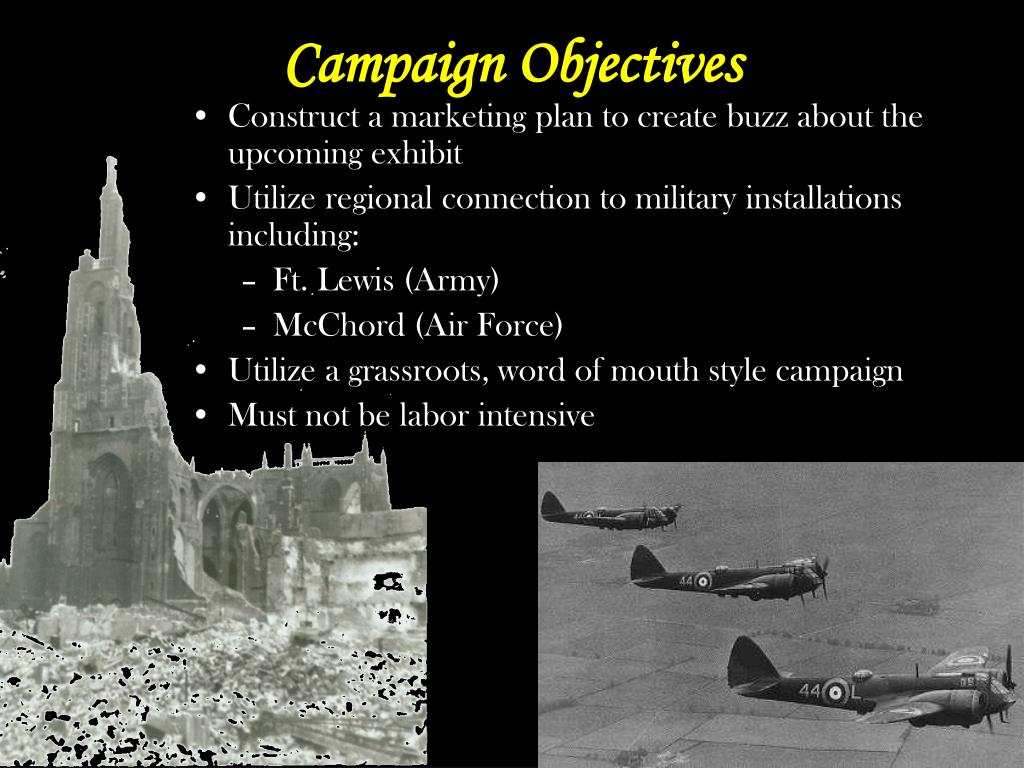 Campaign Objectives