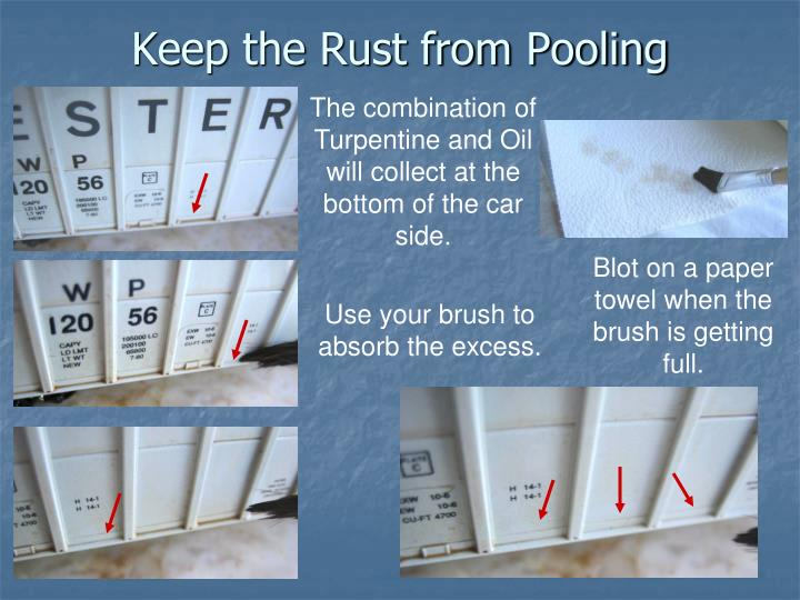 Keep the Rust from Pooling