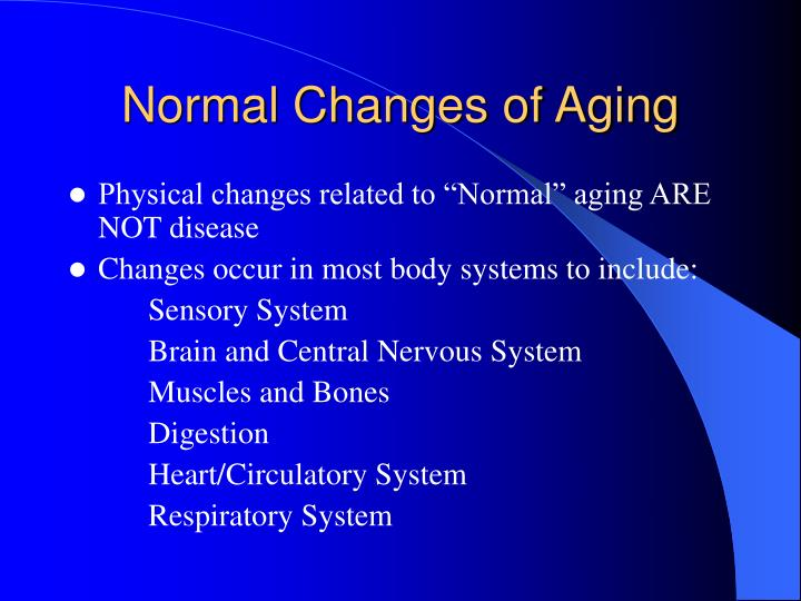 age related changes that occur in the cardiovascular system Aging, cardiovascular changes that occur with the most significant age-related changes in cardiovascular function occur at birth in both sexes and with menopause in.