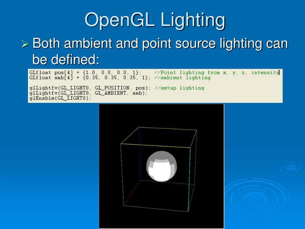 OpenGL Lighting