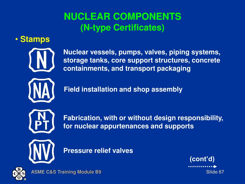 Nuclear vessels, pumps, valves, piping systems, storage tanks, core support structures, concrete containments, and transport packaging