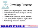 develop process