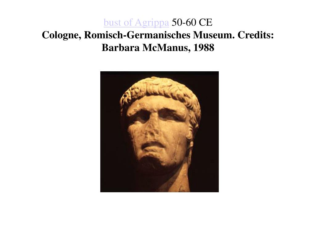 bust of Agrippa