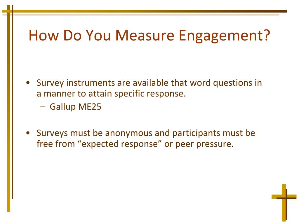 How Do You Measure Engagement?