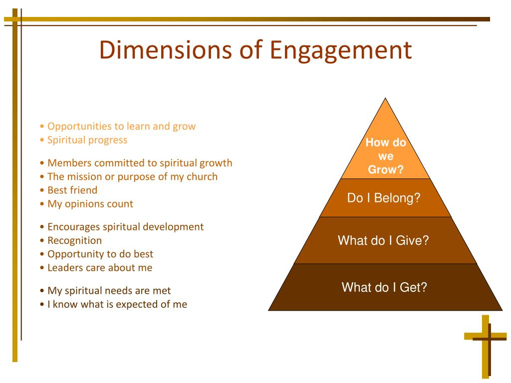 Dimensions of Engagement