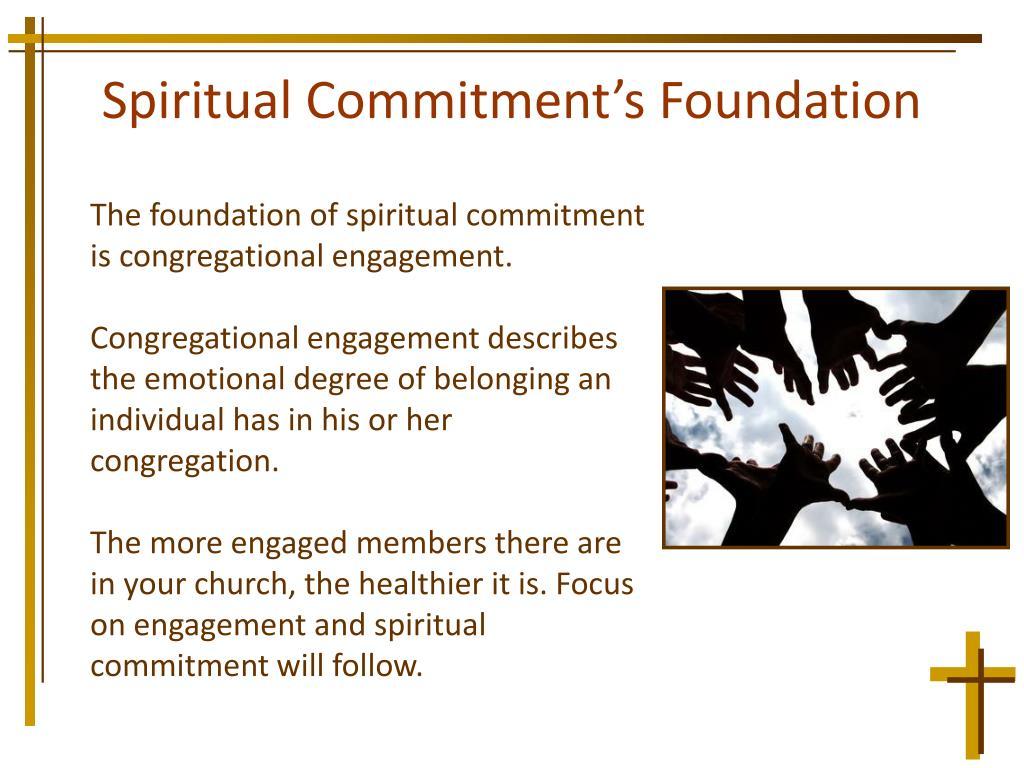 Spiritual Commitment's Foundation