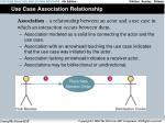 use case association relationship