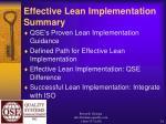 effective lean implementation summary34