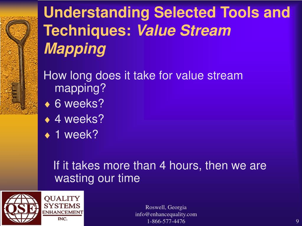 Understanding Selected Tools and Techniques: