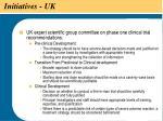 initiatives uk