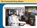 the counterfeit drug market