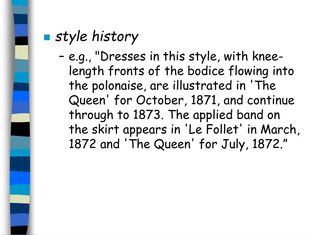 style history